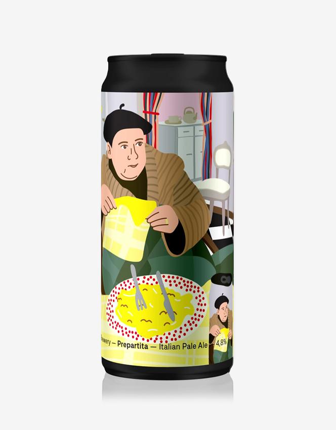 Lattina Birra Prepartita