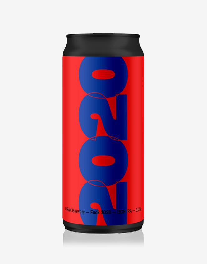 Lattina Birra Fuck 2020 Blu-Rossa