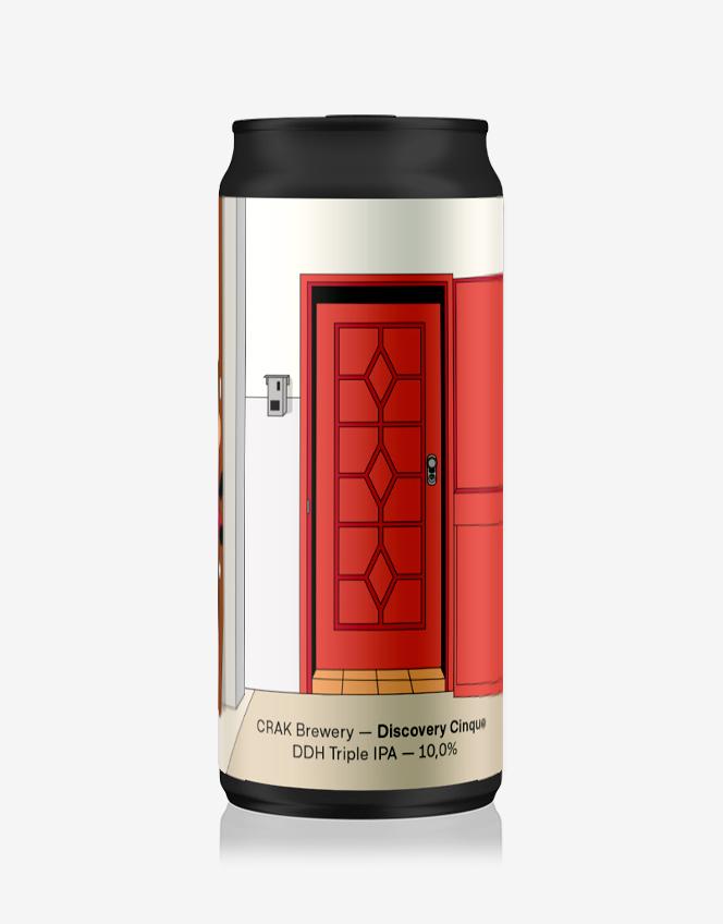 Lattina Birra Discovery Cinque
